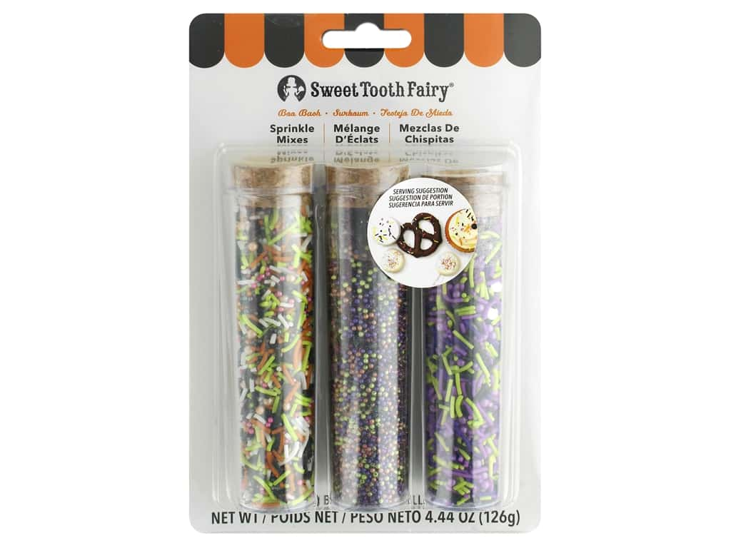 American Crafts Collection Sweet Tooth Fairy Sprinkles Mix Boo Bash 3 pc