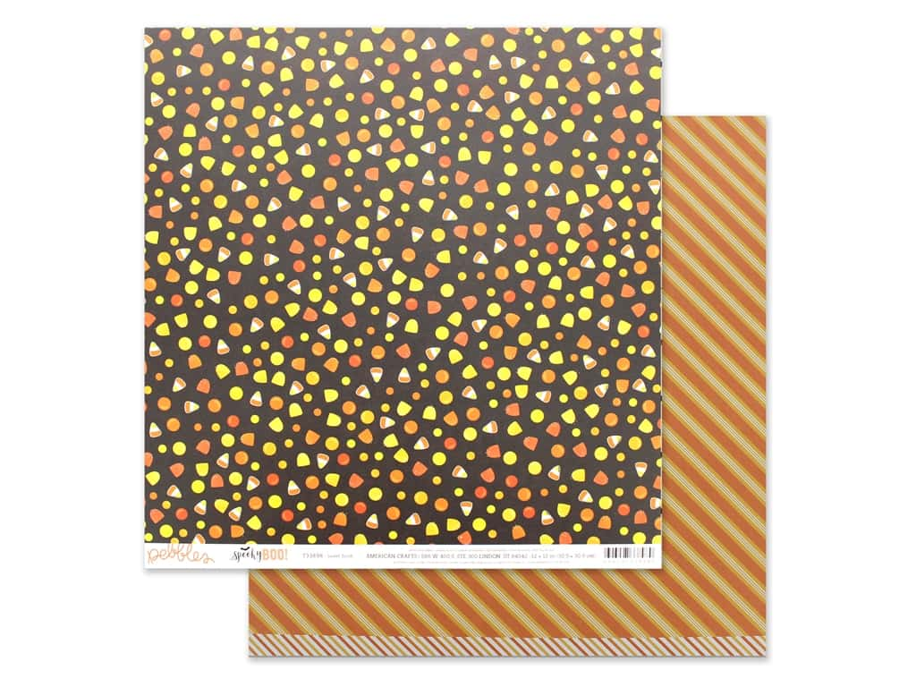 Pebbles Spooky Boo 12 in. x 12 in. Sweet Tooth (25 pieces)