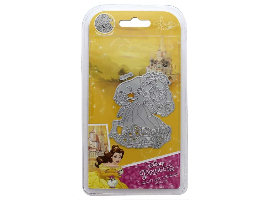 Character World Die/Stamp Disney Beauty And The Beast