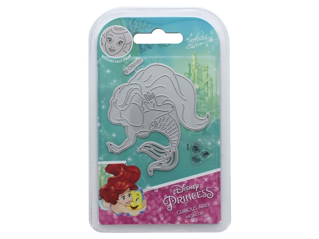Character World Die/Stamp Disney Mermaid Curious Ariel