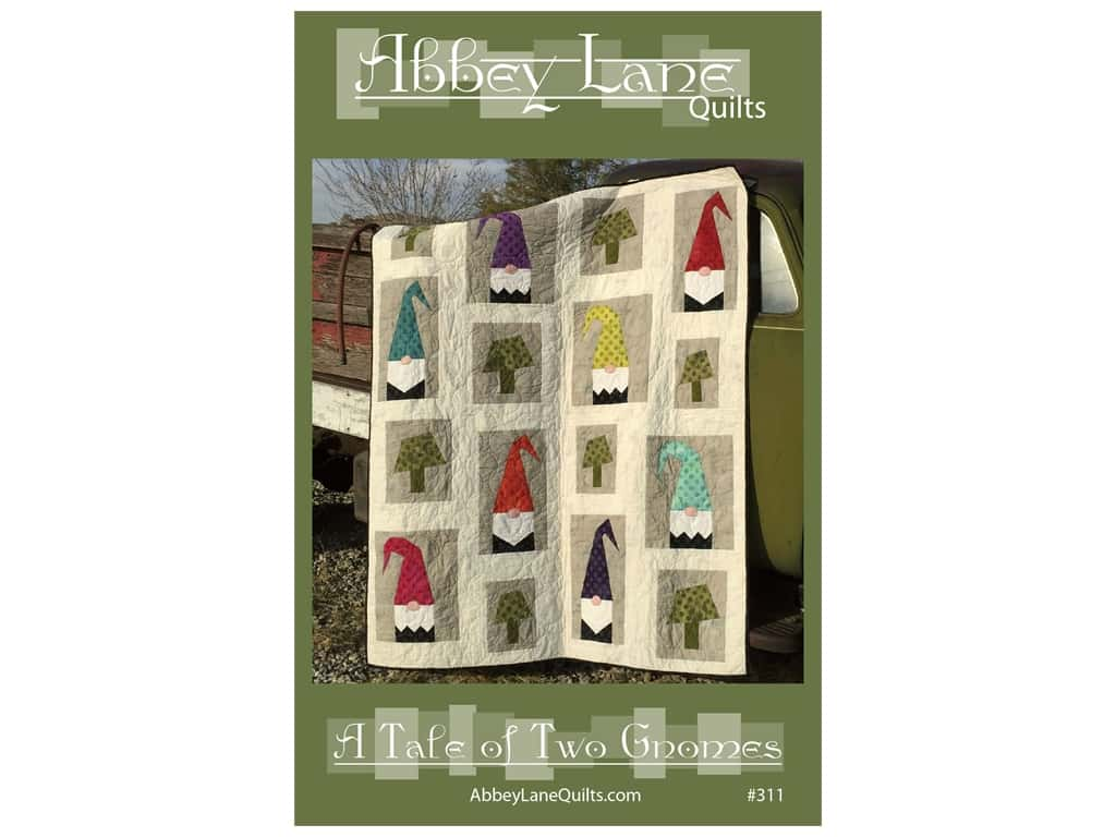 Abbey Lane Quilts A Tale of Two Gnomes Pattern
