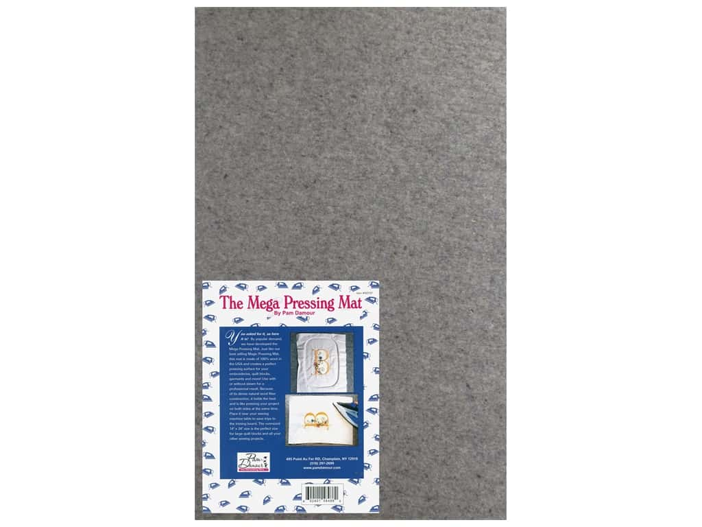 Pam Damour Notions The Mega Pressing Mat 14 x 24 in.