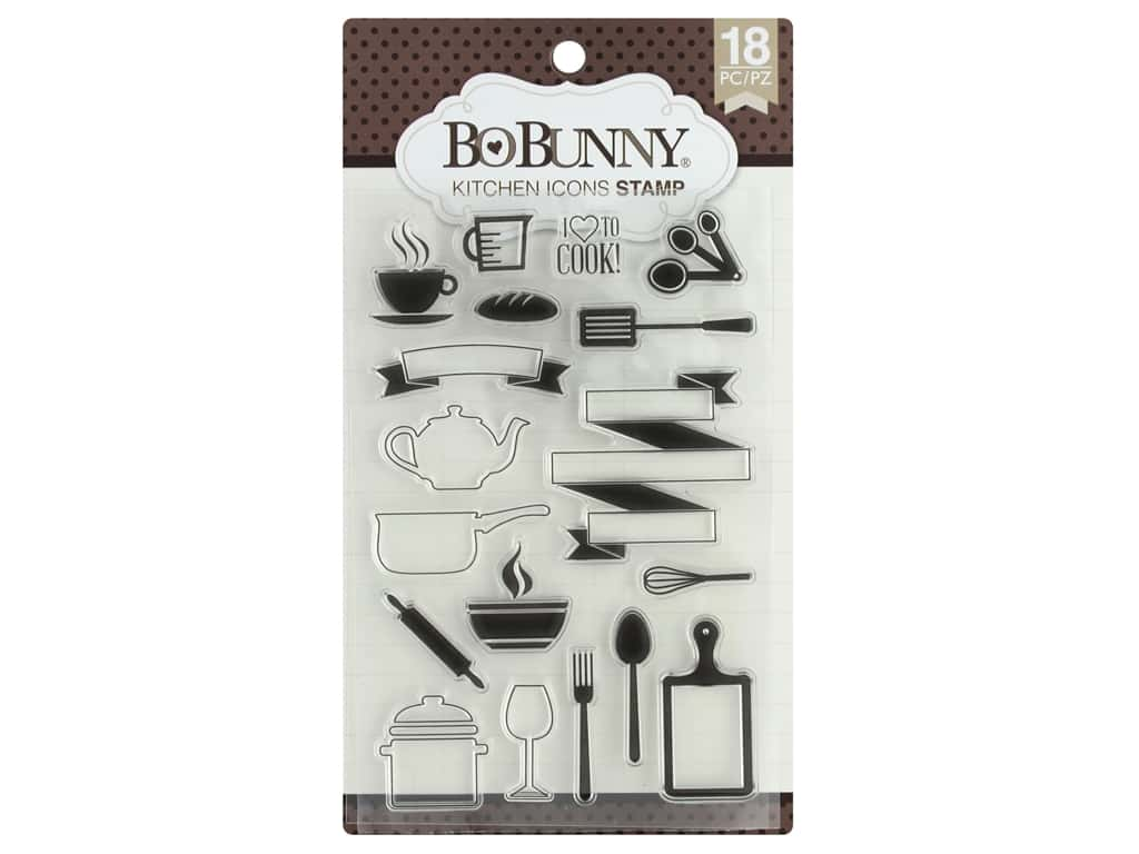 Bo Bunny Stamp Kitchen Icons
