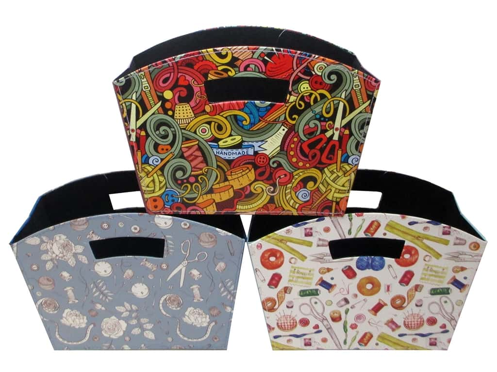 Tacony Sew Tasty Foldable Sewing Tidy Assorted (3 pieces)