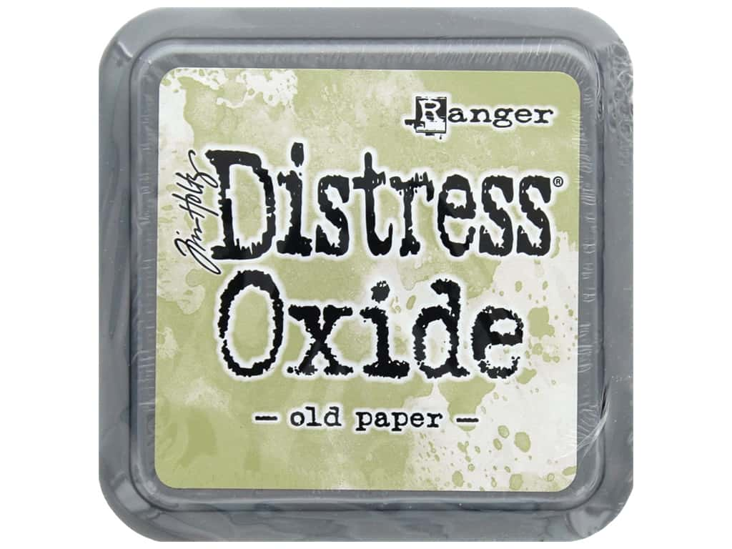 Ranger Tim Holtz Distress Oxide Ink Pad Old Paper