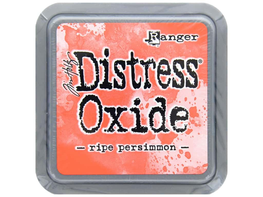 Ranger Tim Holtz Distress Oxide Ink Pad Ripe Persimmon