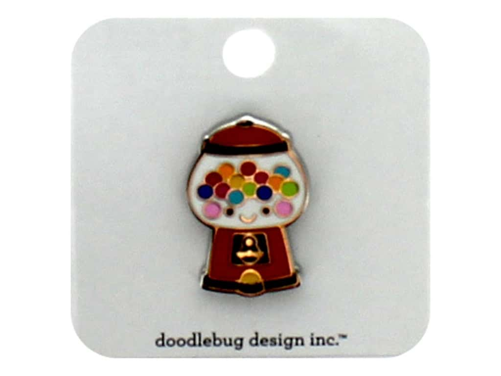 Doodlebug Collection So Much Pun Collectible Pin Bubblegum Machine