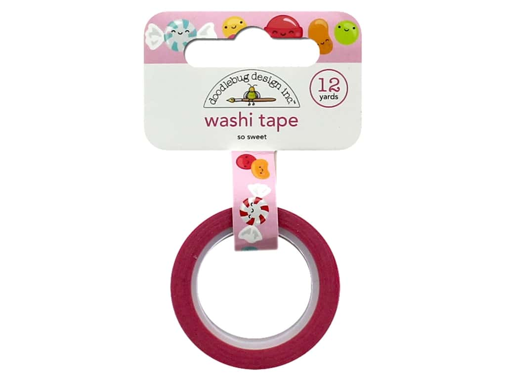 Doodlebug Collection So Much Pun Washi Tape So Sweet