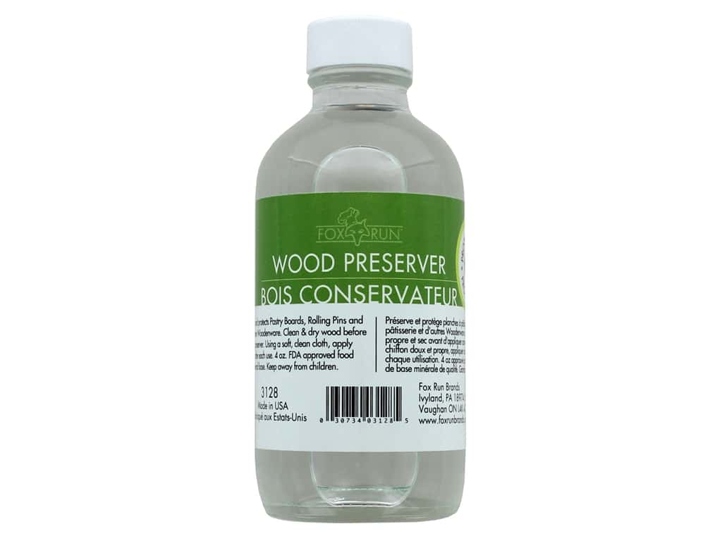 Fox Run Kitchen Wood Preserver 4 oz