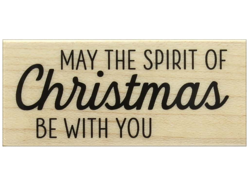 Hero Arts Rubber Stamp The Spirit of Christmas