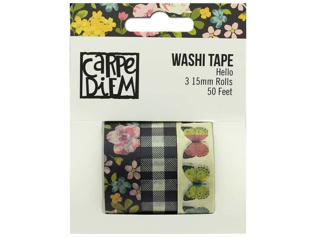 Simple Stories Collection Carpe Diem Hello Washi Tape