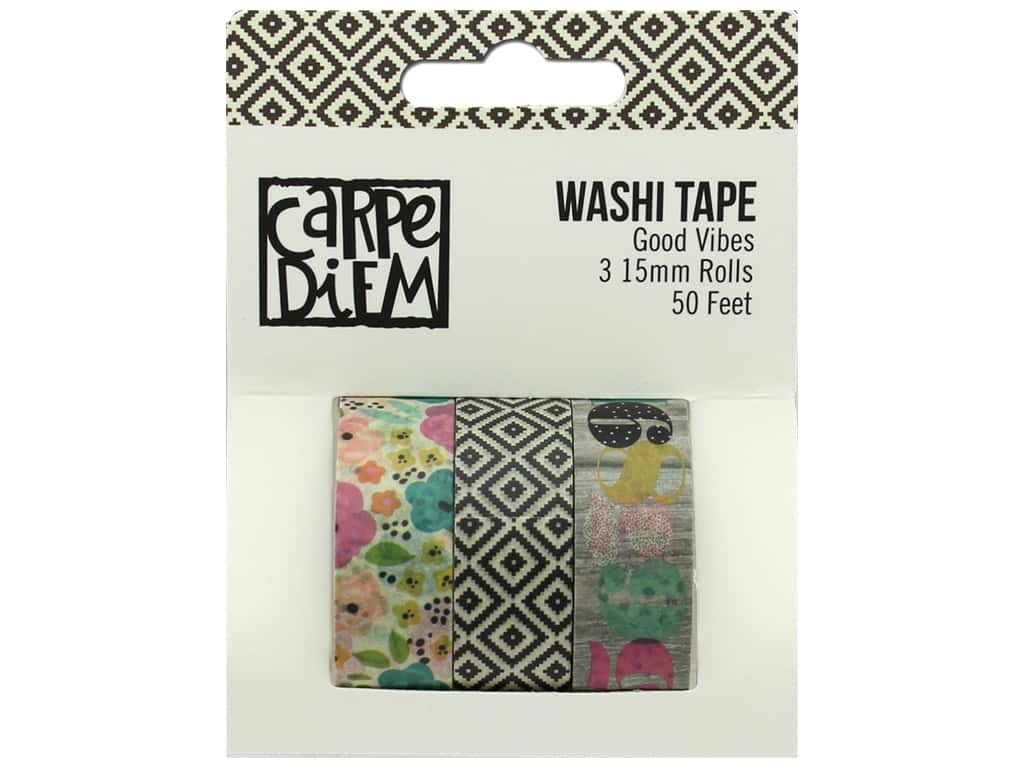 Simple Stories Collection Carpe Diem Good Vibes Washi Tape
