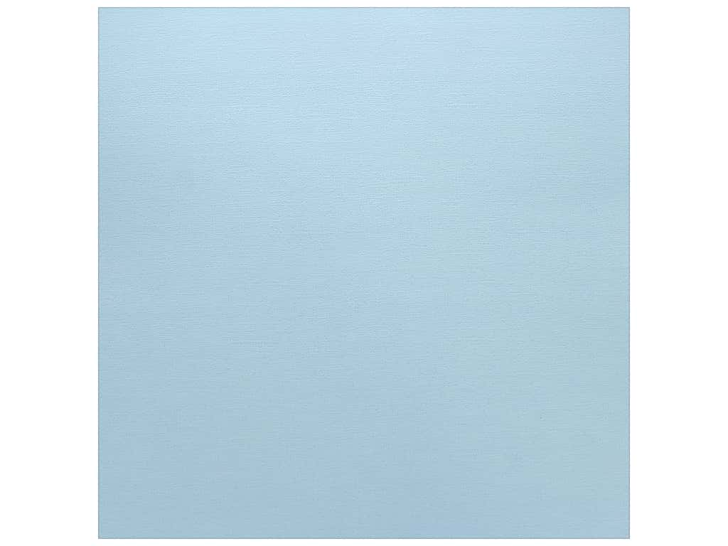 Paper Accents Cardstock 12 x 12 in. Textured Bubble Blue (25 sheets)