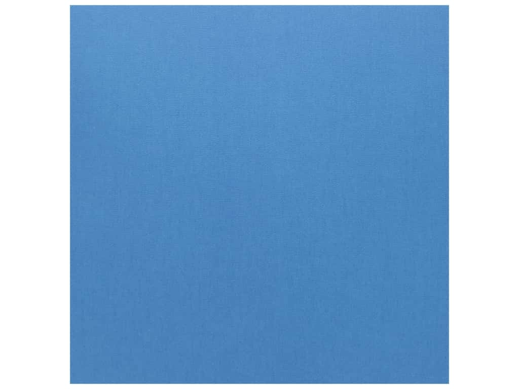Doodlebug Cardstock 12 x 12 in. Textured Blue Jean (25 sheets)