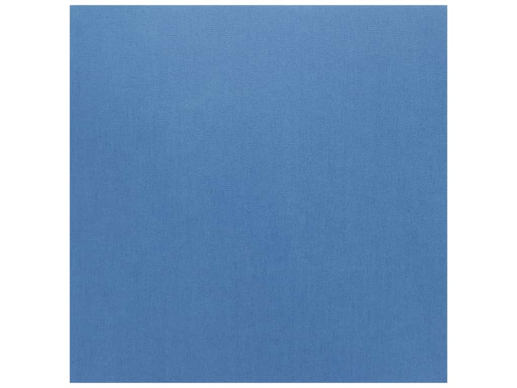 Doodlebug Cardstock 12 x 12 in. Textured Blue Berry (25 sheets)