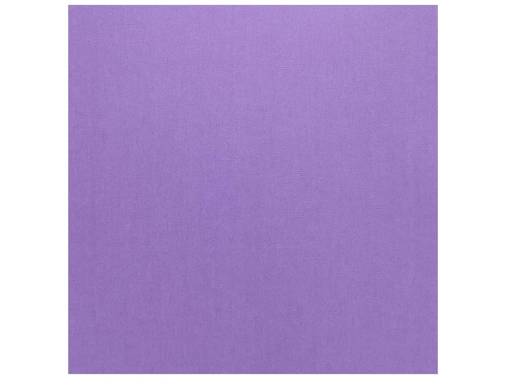 Doodlebug Cardstock 12 x 12 in. Textured Lilac (25 sheets)