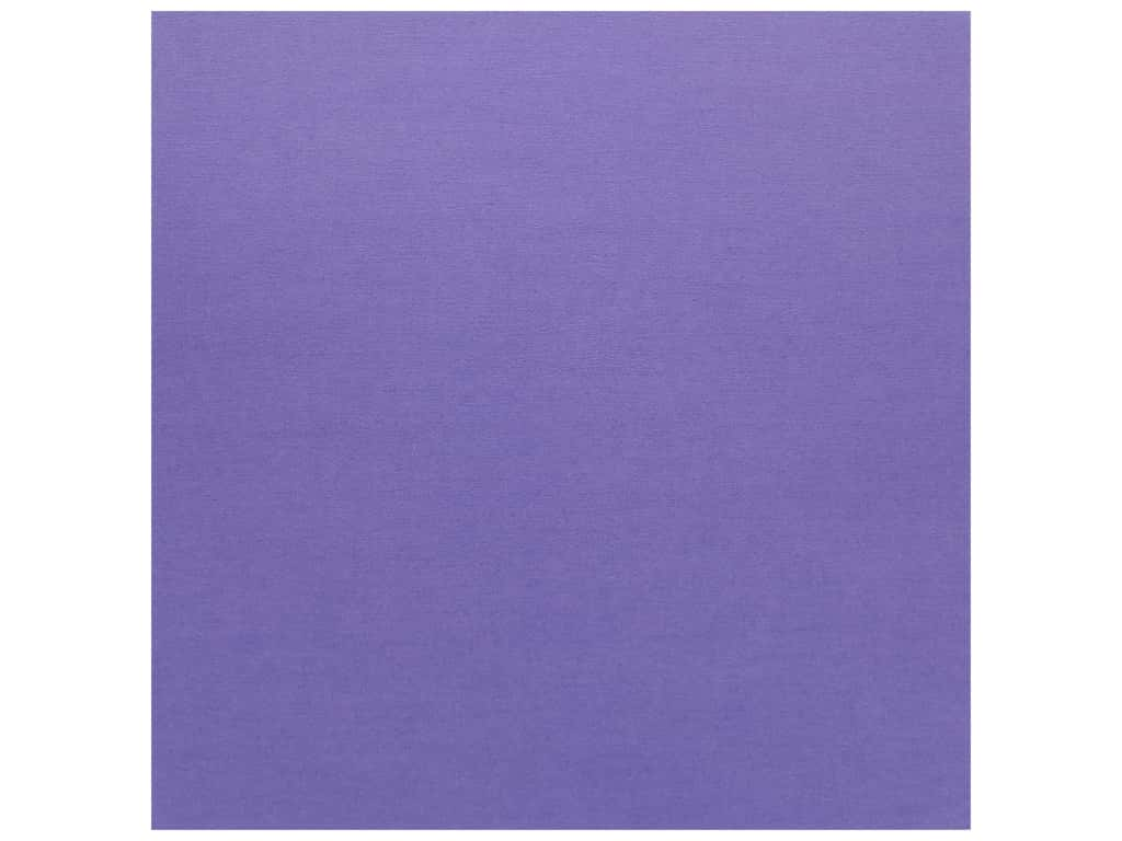 Doodlebug Cardstock 12 x 12 in. Textured Violet (25 sheets)
