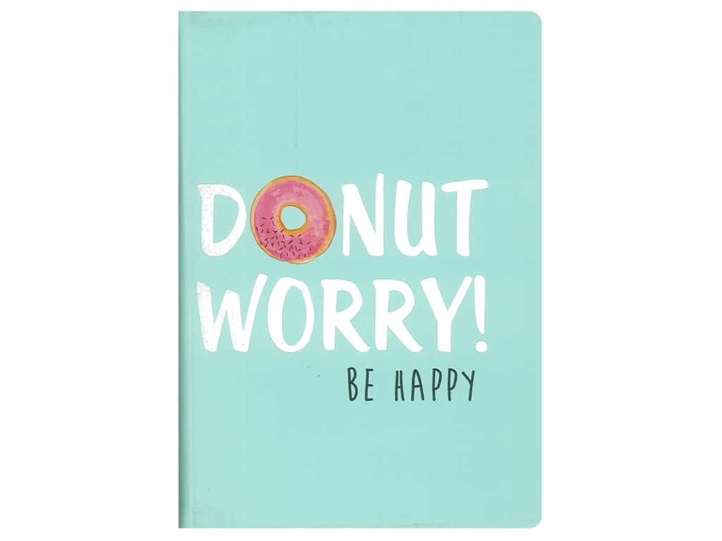 Sierra Pacific Crafts Journal Donut Worry Be Happy