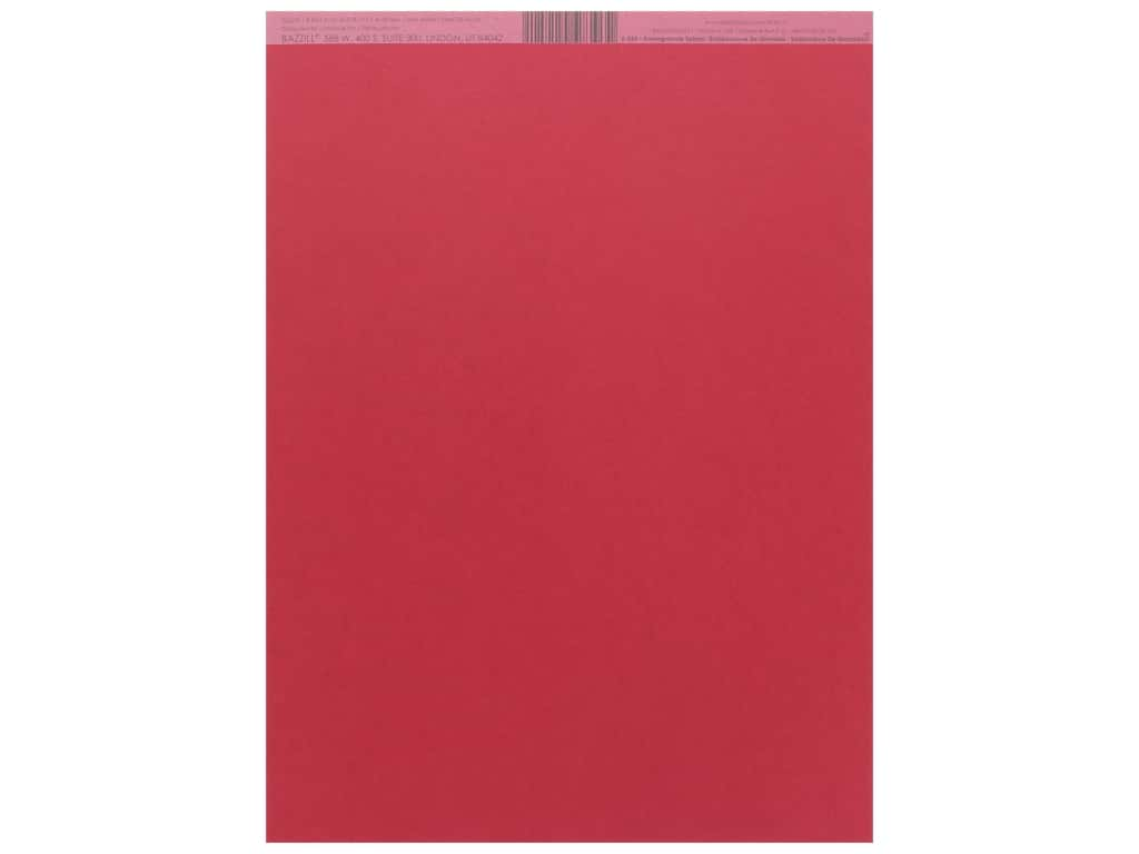 Bazzill Cardstock 8 1/2 x 11 in. Smoothies Pomegranate Splash (25 pieces)