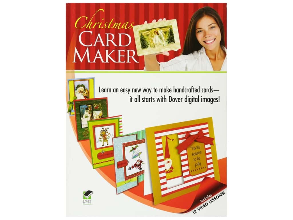 Dover Publications Christmas Card Maker Book
