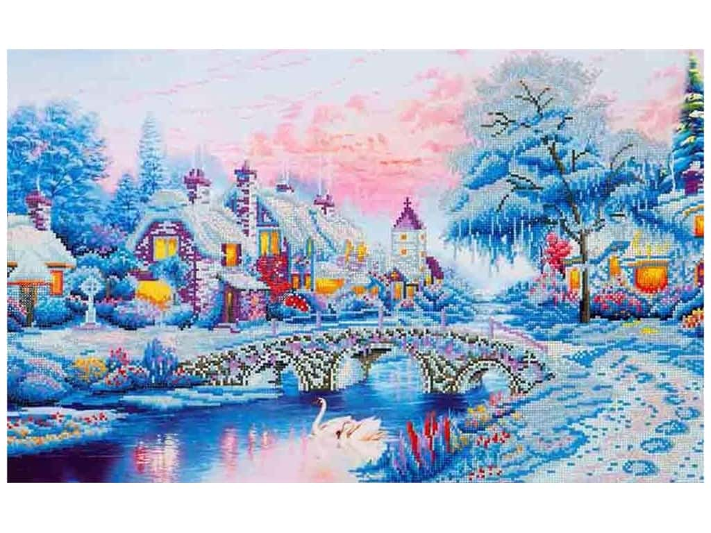 Diamond Dotz Advanced Kit - Winter Village