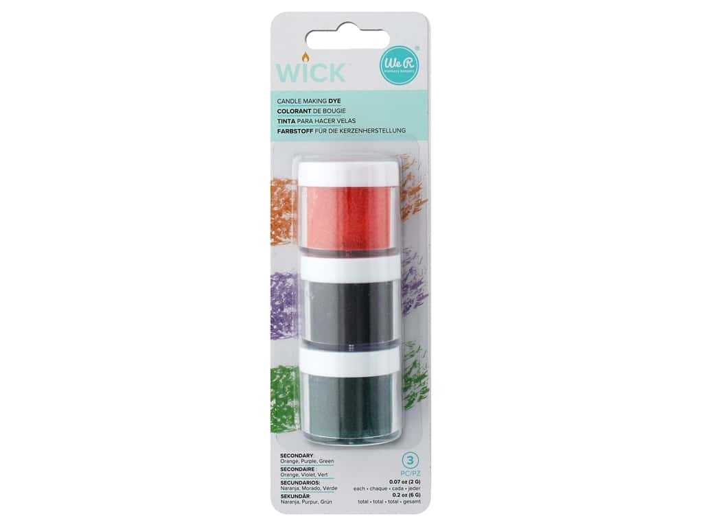 We R Memory Keepers Wick Candle Dye 3 pc. Secondary