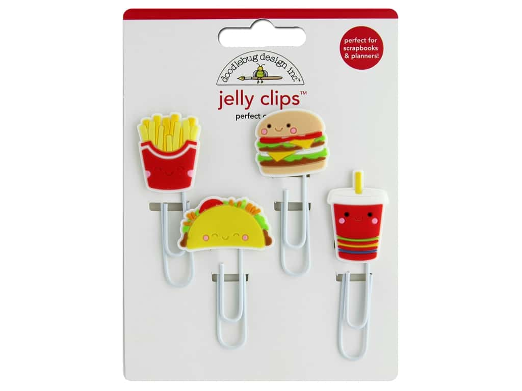 Doodlebug Collection So Much Pun Jelly Clips Perfect Combo