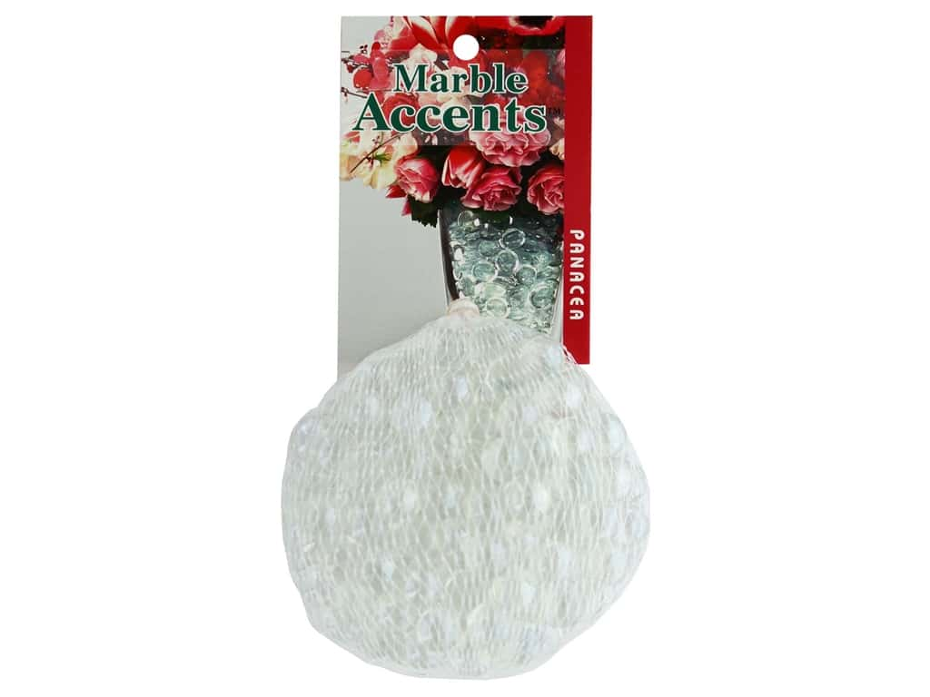 Panacea Decorative Accents Glass Marbles Mini Clear 12 oz
