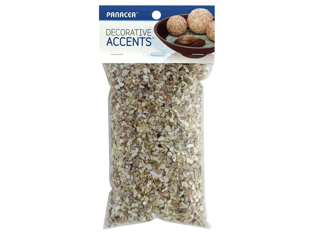 Panacea Decorative Accents Seashells Fine Crushed 1.75 lb