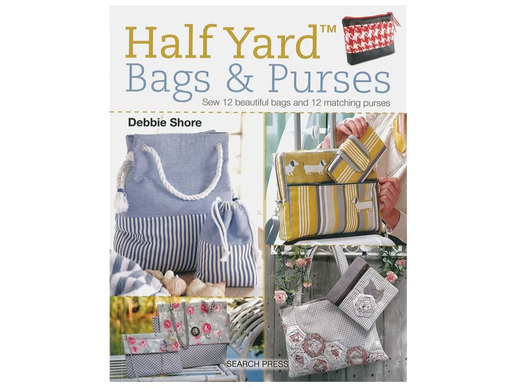Search Press Half Yard Bags & Purses Book