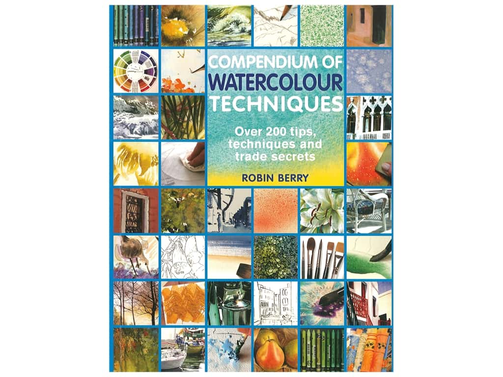 Search Press Compendium Of Watercolour Techniques Book