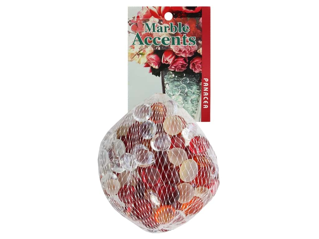Panacea Decorative Accents Glass Gems Cranberry 12 oz
