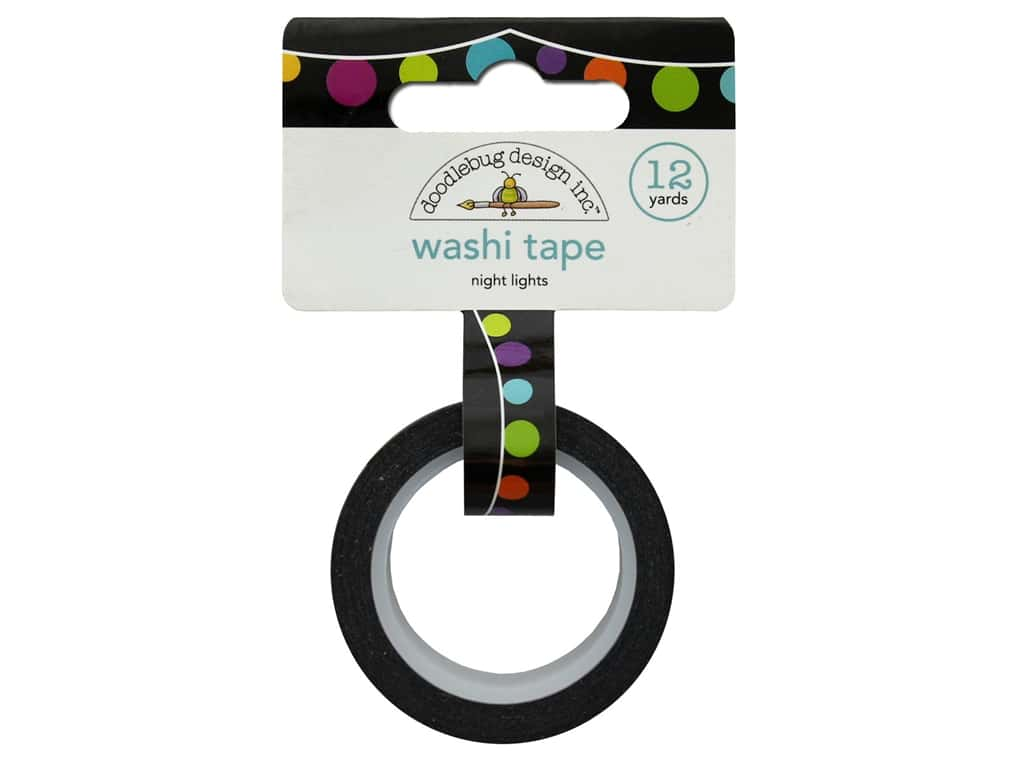 Doodlebug Collection Pumpkin Party Washi Tape Night Lights