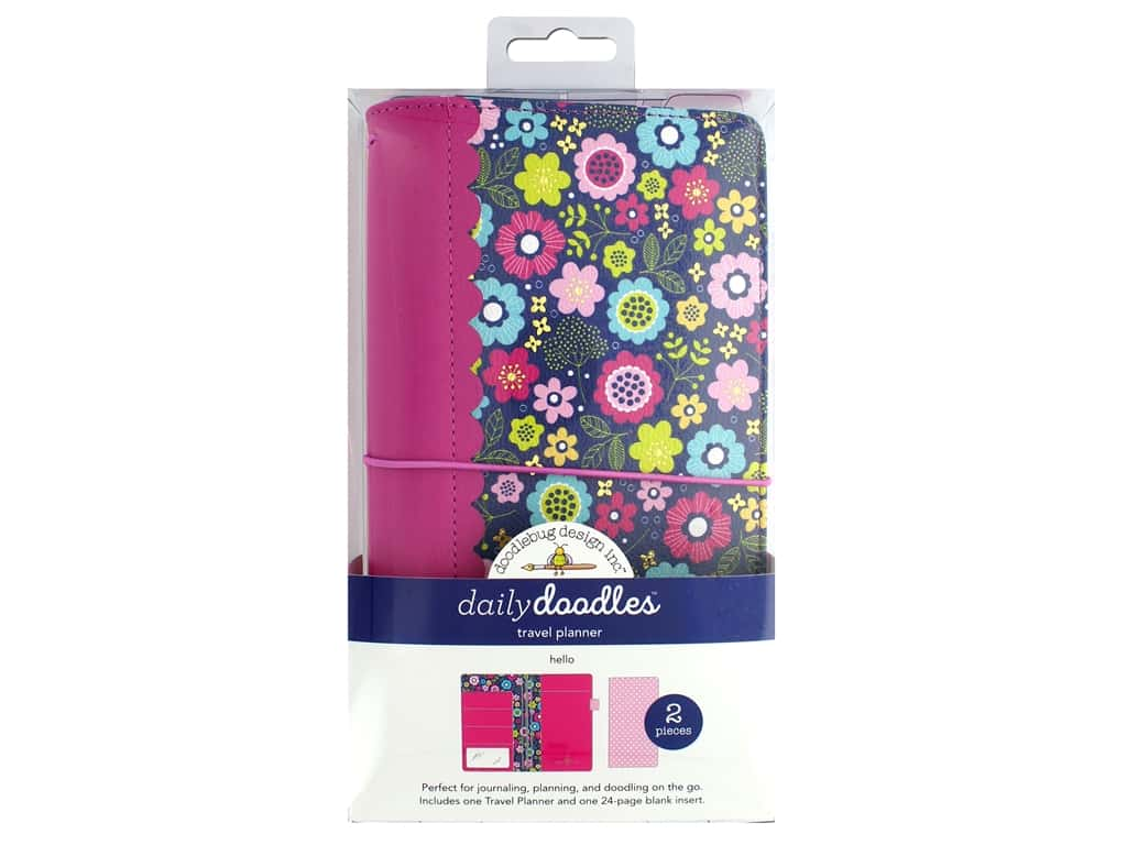 Doodlebug Collection Hello Travel Planner