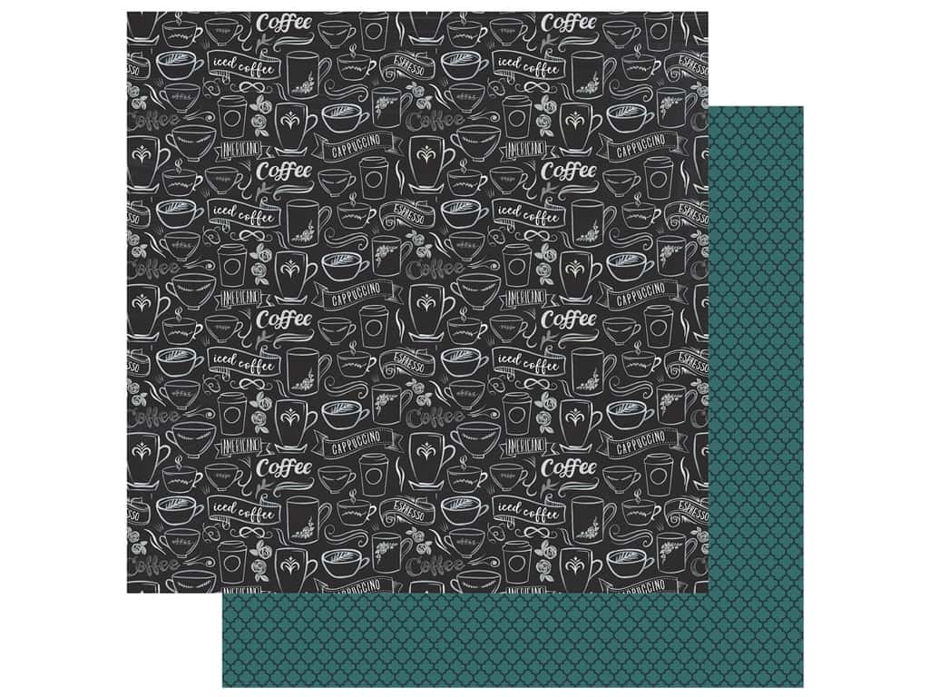 Echo Park Collection Coffee Paper 12 in. x 12 in. Coffee Blend (25 pieces)