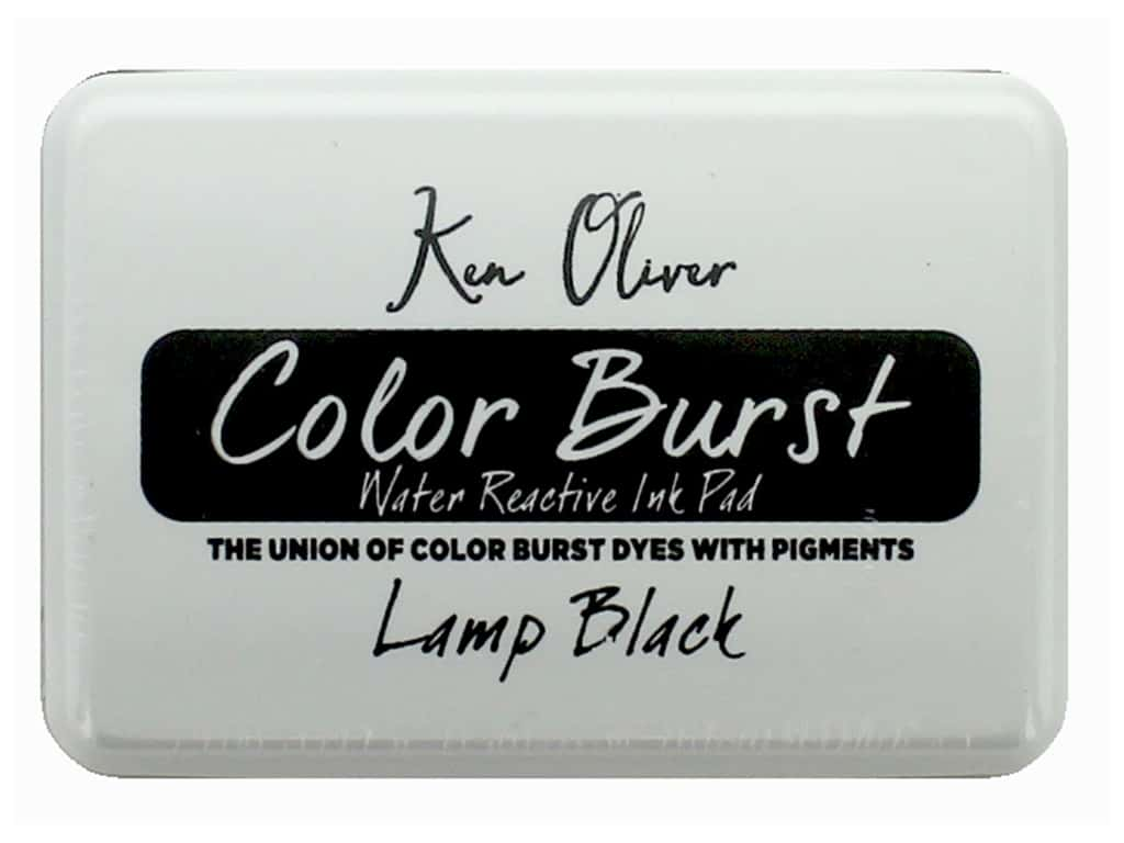 Contact Crafts Ken Oliver Color Burst Ink Pad Lamp Black