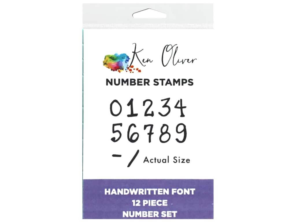 Contact Crafts Ken Oliver Clickable Stamp Number