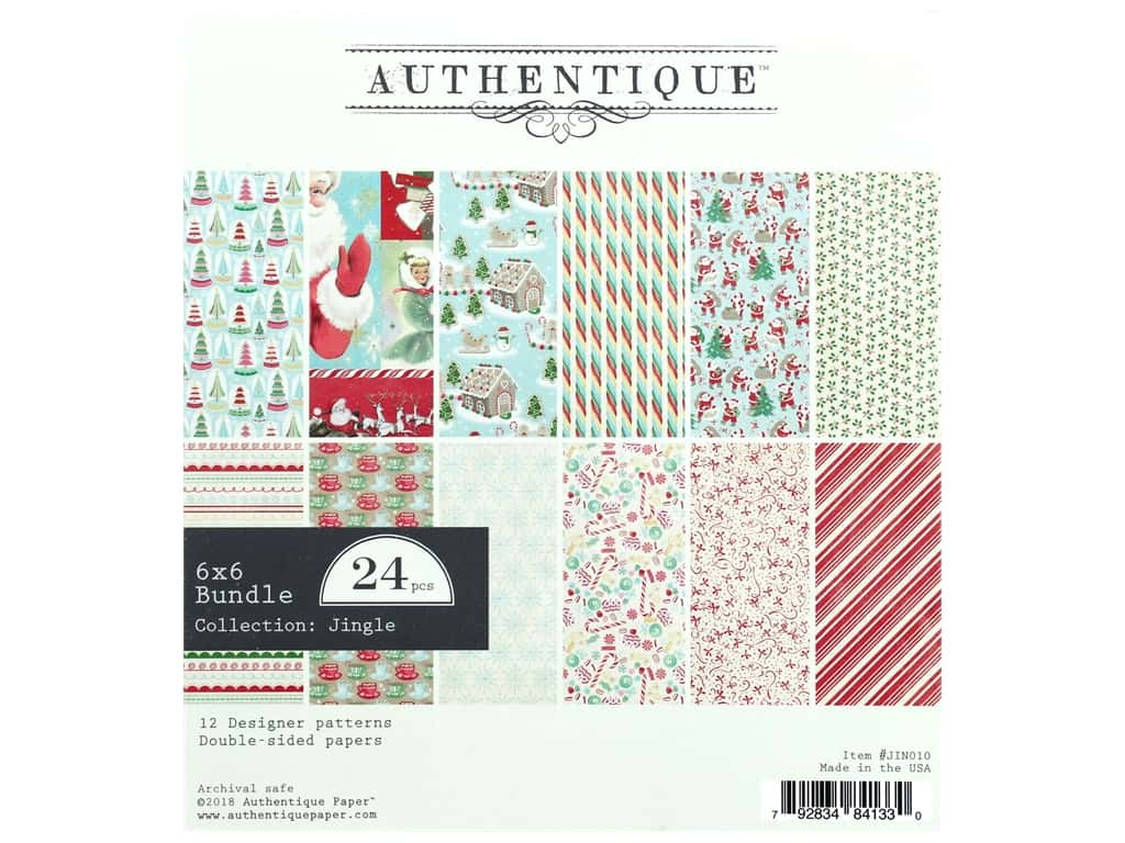 Authentique Collection Jingle Bundle Pad 6 in. x 6 in.
