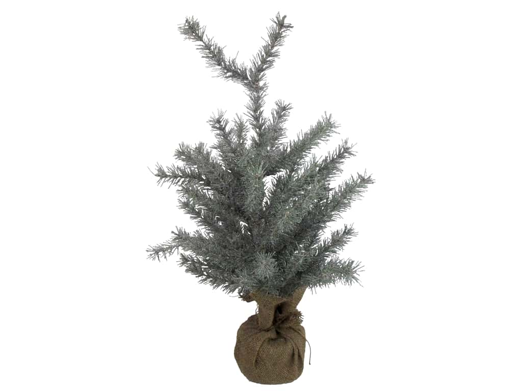 Sierra Pacific Crafts Tree Spruce With Glitter Needles 24 in.