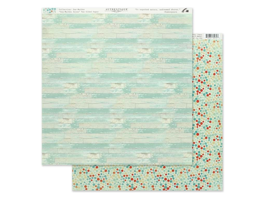 Authentique Collection Sea Maiden Paper 12 in. x 12 in. Seven (25 pieces)