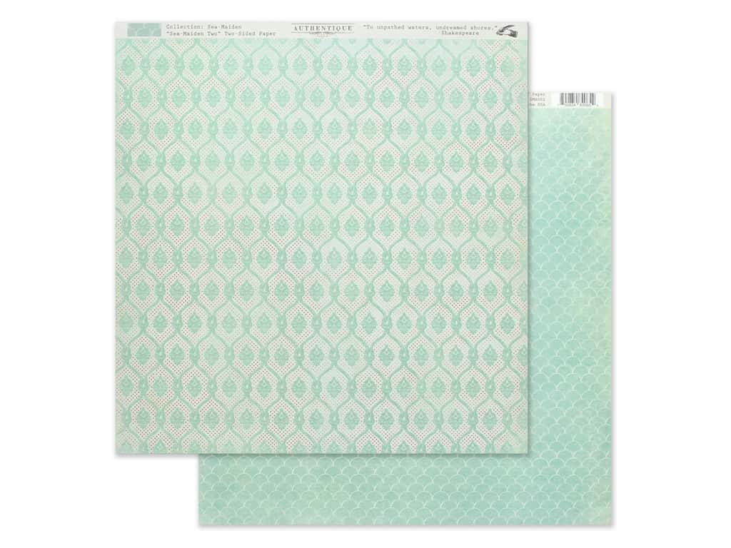 Authentique Collection Sea Maiden Paper 12 in. x 12 in. Two (25 pieces)