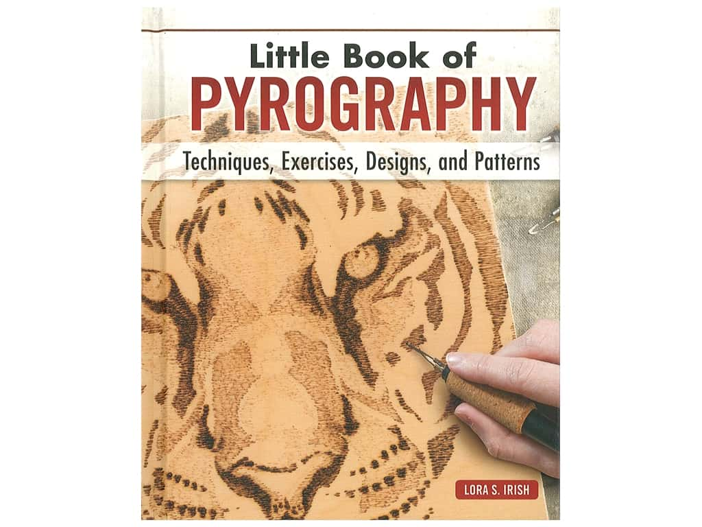 Fox Chapel Publishing Little Book Of Pyrography Book