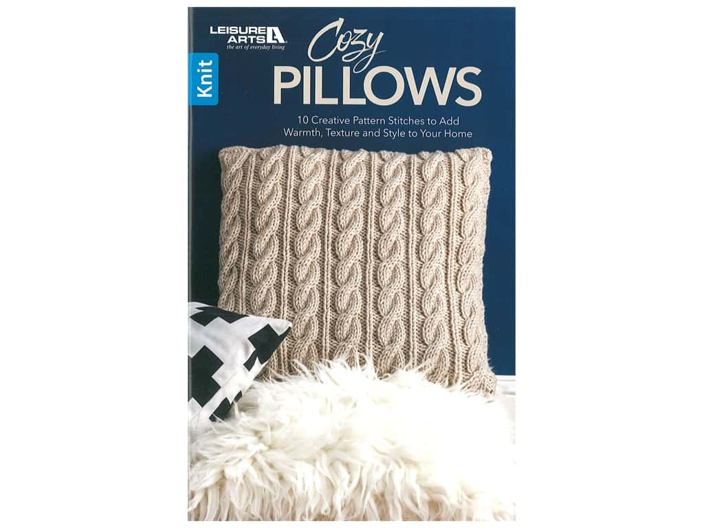 Leisure Arts Cozy Pillows Book