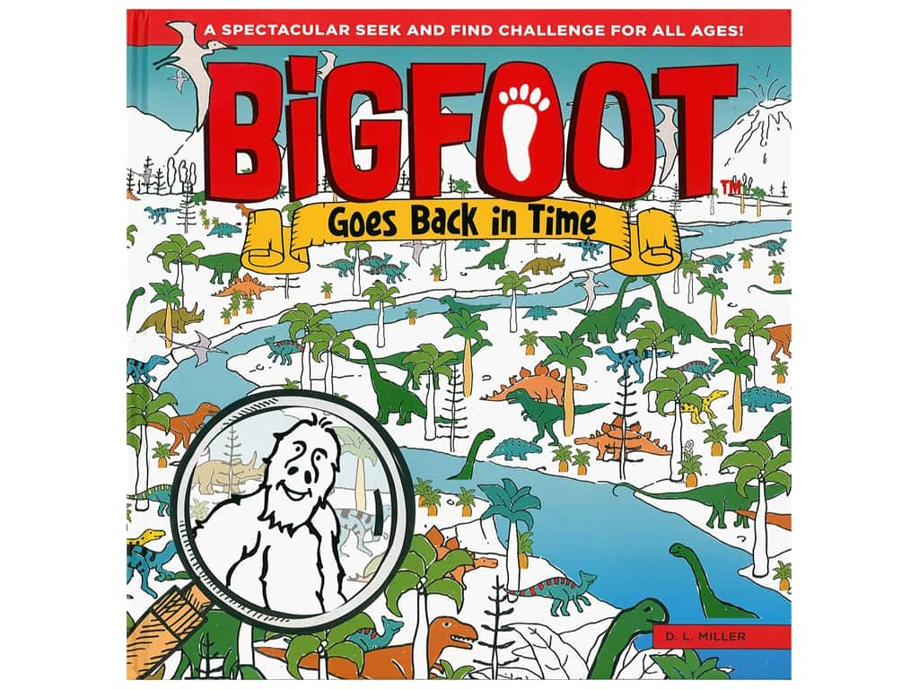 Happy Fox BigFoot Goes Back In Time Book