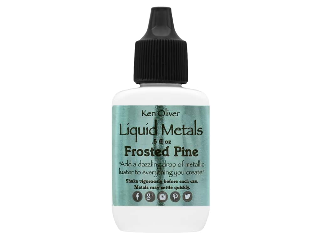 Contact Crafts Ken Oliver Liquid Metal .5 oz Frosted Pine