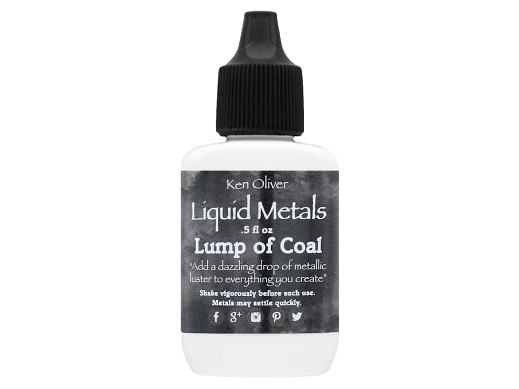 Contact Crafts Ken Oliver Liquid Metal .5 oz Lump Of Coal