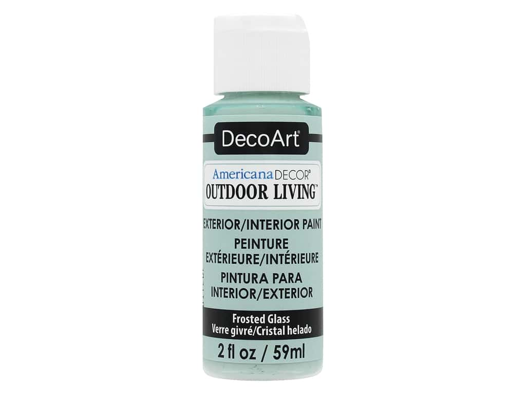 DecoArt Americana Decor Outdoor Living - Frosted Glass 2 oz.