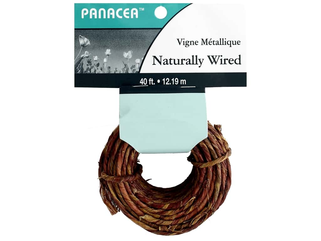Panacea Wire Naturally 40 ft