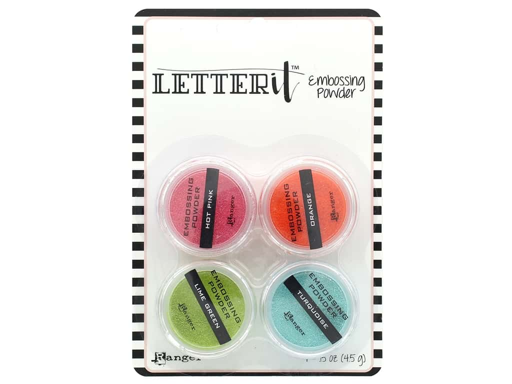 Ranger Letter It Embossing Powders - Brights