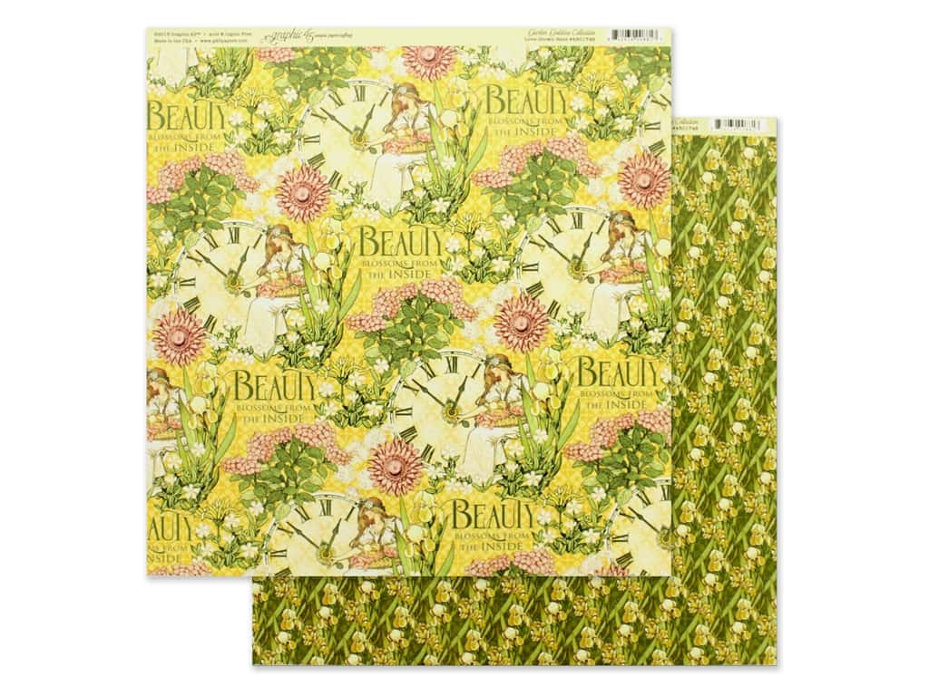 Graphic 45 Collection Garden Goddess Paper 12 in. x 12 in. Love Grown Here (25 pieces)